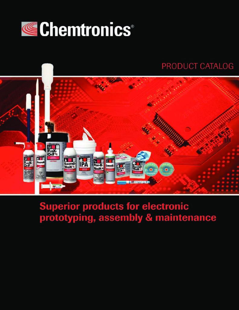 Chemtronics Katalog