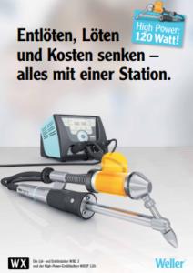 """Entlöten und Löten mit je 120 Watt"""