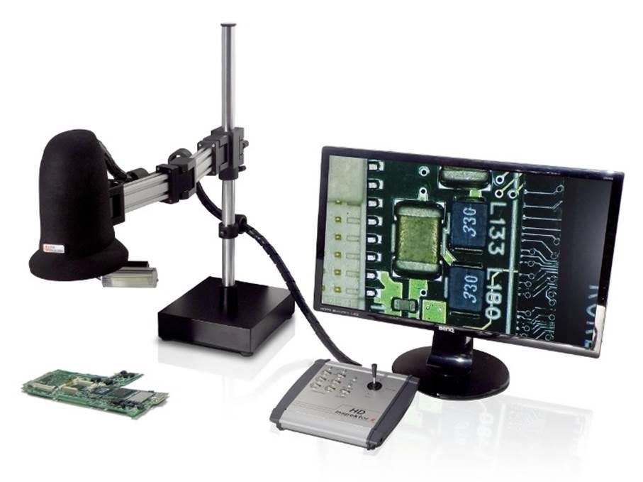 Mit dem neu entwickelten Digitalmikroskop HD-Inspektor II steht dem Anwender ein innovativer, leistungsstarker Inspektions- und Kontrollarbeitsplatz zur Verfügung. Das Herzstück des Inspektionssystems ist eine intelligente HD-Kamera mit einem 30-fach optischen Zoom hoher Abbildungsgüte.